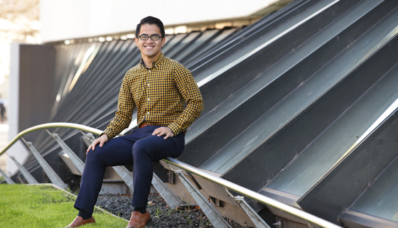 Jay at Melbourne Uni