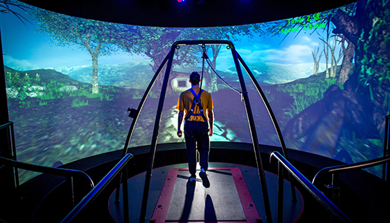 Developing a virtual reality platform thanks to a bequest