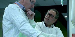 Professor Sean Grimmond and Professor Alex Boussioutas