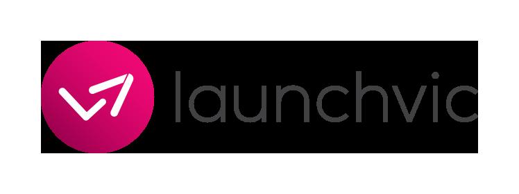 LaunchVic Logo - Horizontal