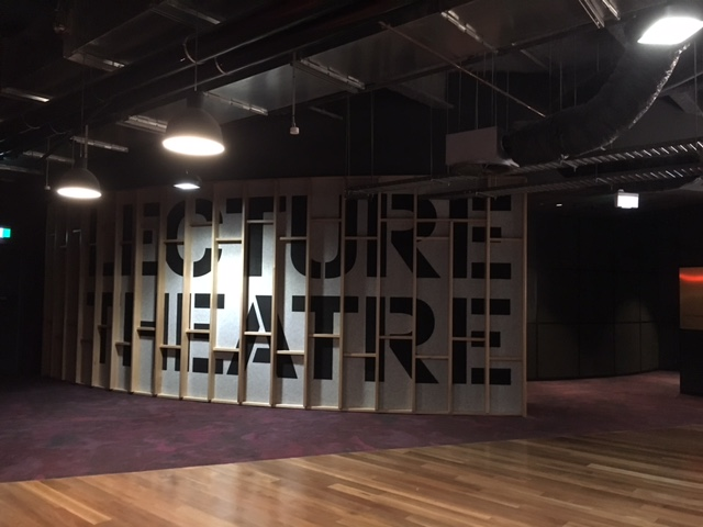 Arts West - Entrance to Lecture Theatre