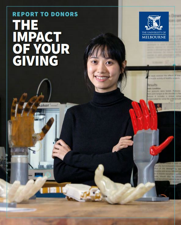 Report to Donors 2018
