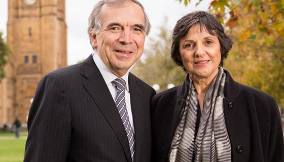 Mrs Elizabeth and Professor James Tatoulis AM