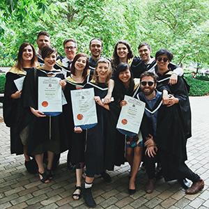 Members of FTV Graduating Class