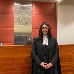 Pinar Tat in court