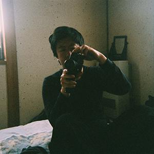 Alex with super 8 camera