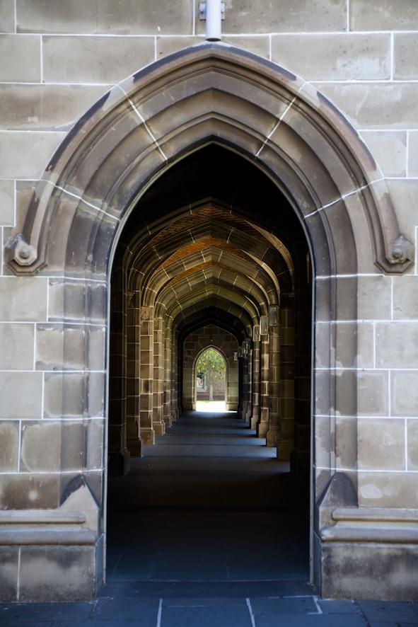Old Quad East Entrance