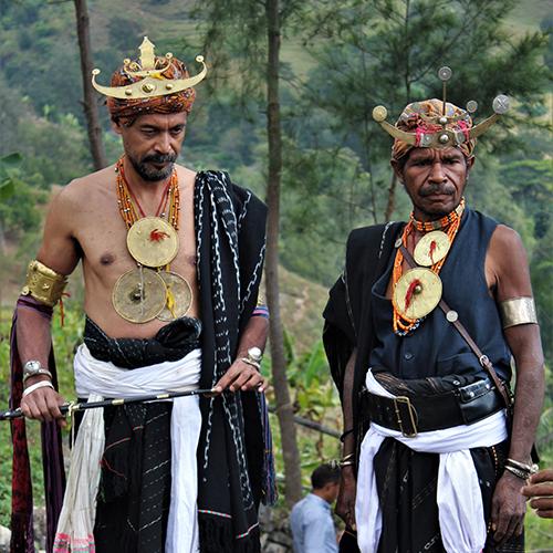 Two tribesman