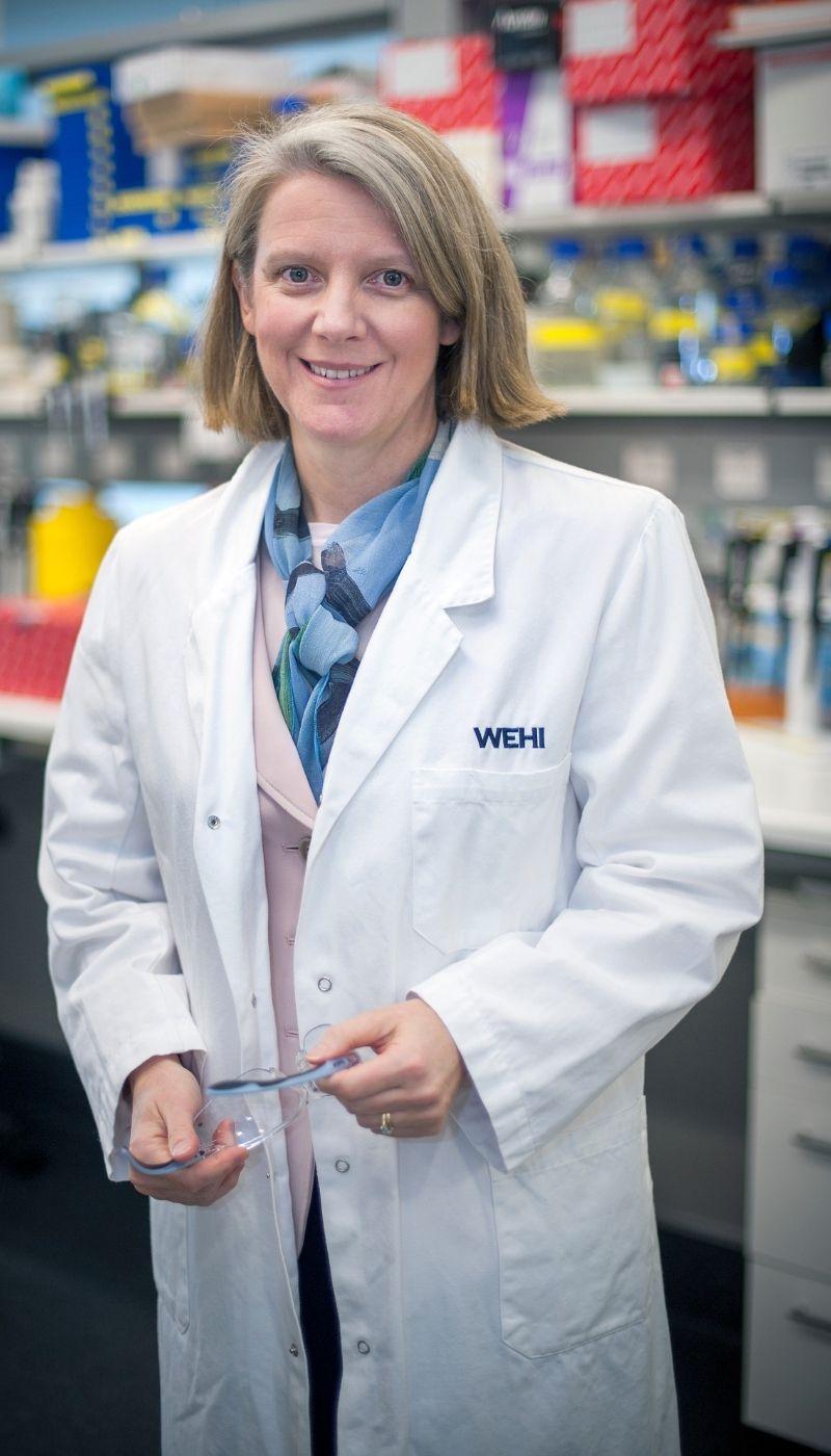 Professor Scott in her labratory