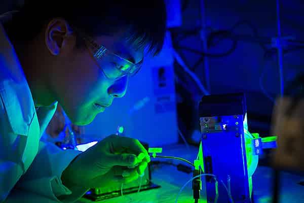 World class research facilities