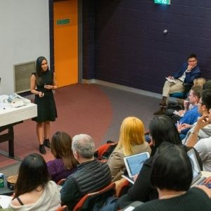 Rav conducting a workshop on resilience for the City of Melbourne