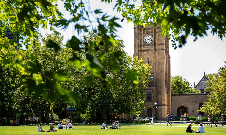 الدراسة في أستراليا، جامعة ملبورن (The University of Melbourne)